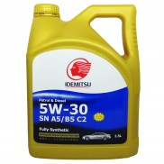 IDEMITSU SN A5/B5 C2 5W-30 Fully Synthetic Petrol & Diesel Engine Oil (3.5 L)