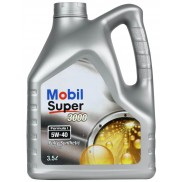 Mobil Super 3000 F1 5W-40 Synthetic Motor Oil (3.5 L)