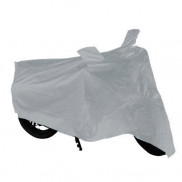 Universal Motorcycle Silver Cover With Mirror Pockets