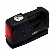 Coido 2153 Car Tyre Inflator with Torch, Emergency Flasher and 300 PSI Gauge