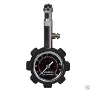 Coido 6075 Tyre Pressure Guage Metalic with Durable Meter