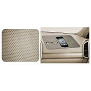 CarMobCentral Anti Slip Mat Pad for Car Dashboard Beige