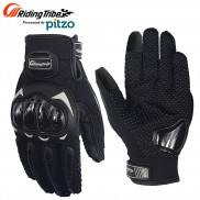 Probiker Riding Tribe Full Finger Riding Gloves (Black, MCS17)