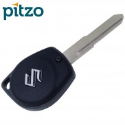 Pitzo PIT 102A Replacement Black 2 Buttons Car Key Shell for Maruti Suzuki (all Model)
