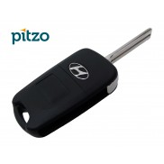 Hyundai Old Car Key Shell for 3 Button Remote Flip