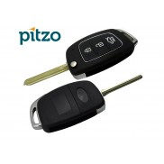 Hyundai New Model Car Key Shell for 3 Button Remote Flip