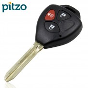 Toyota Car Key Shell for 3 Button Remote