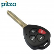 Toyota Car Key Shell for 4 Button Remote
