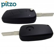 Fiat Car Key Shell for 3 Button Remote Flip