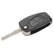 Fiat 2 Button Remote Flip for Car Key Shell