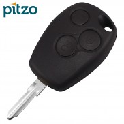Renault Car Key Shell for 3 Button Remote