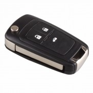 Chevrolet Cruze Flip Car Key Shell for 3 Button Remote