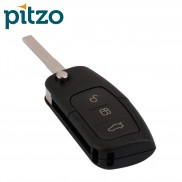 Ford Flip Car Key Shell for 3 Button Remote