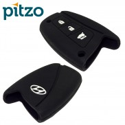Car Silicone Key Cover for 3 Button Remote Smart Key Shell Body Case for Hyundai