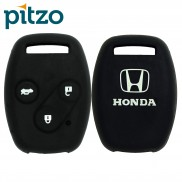 Car Silicone Key Cover for 3 Button Remote Key Shell Body Case for Honda