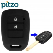 Car Silicone Key Cover for 2 Button Remote Key Shell Body Case for Honda