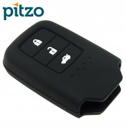 Car Silicone Key Cover for 3 Button Remote Smart Key Shell Body Case for Honda