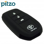 Silicone Key Cover Compatible with New Toyota Fortuner for Push Button Smart Key Only