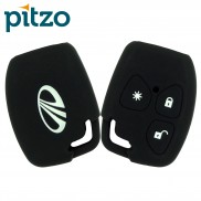 Car Silicone Key Cover for 3 Button Remote Key Shell Body Case for Mahindra