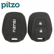 Silicone 2 Button Key Cover for Isuzu D-Max, V-Cross (Black)