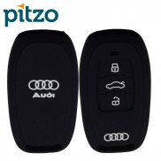 Silicone Car Key Cover for Audi (3 Push Button Smart Key)