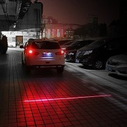 Car Laser Fog Lamps and Warning Light