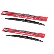 "Champion Wiper Blade Assembly for Car, 24(D)"" and 17(P)"" (Set of 2)"