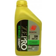 IDEMITSU ZEPRO with Advanced Molybdenum SAE 0W-20 Fully Synthetic Petrol and Diesel Engine Oil (1 L)
