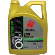 IDEMITSU ZEPRO with Advanced Molybdenum SAE 0W-20 Fully Synthetic Petrol and Diesel Engine Oil (3.5 L)